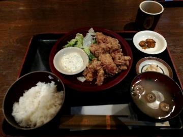 カッパ・クリエイト 三間堂 若鶏の唐揚げ定食01 1901 201809