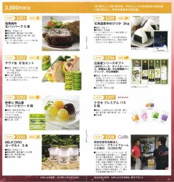 長瀬産業 優待案内 カタログ02 201903