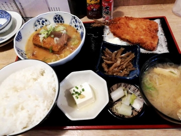 SFP HD 五の五 サバ味噌煮定食05 201902