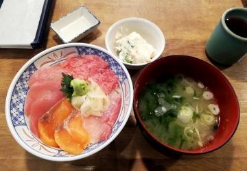 SPF HD 磯丸水産 磯丸4色丼01 1812 201808
