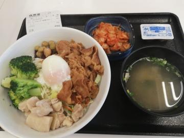 吉野家HD ライザップ牛サラダ01 1960 201902
