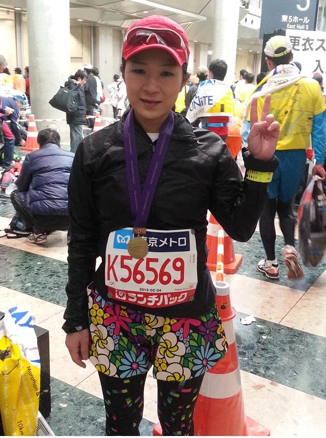 東京マラソンをきっかけにランニングをはじめました