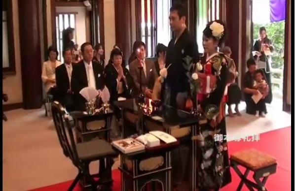 結婚式の冠婚葬祭マナー(動画)~仏前結婚式