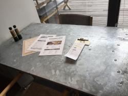 清澄白河 ピットマンズ テーブル 用紙1