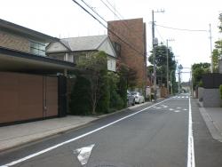 世田谷区岡本 豪邸が立ち並ぶ1