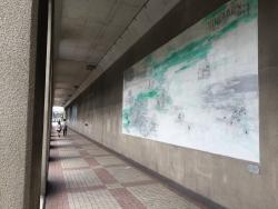 六本木トンネル 壁画1