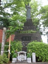 渋谷 陸軍衛戍監獄 二・二六事件異例像