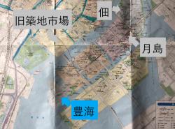 トヨミ フィッシャリーズテラス 地図 豊海