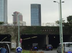六本木トンネル上の米軍ヘリポート 在日米軍基地 港区