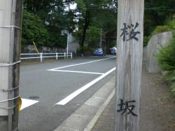 大田区 桜坂 六本木のさくら坂ではない
