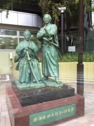 赤坂 明治時代の勝海舟邸跡1