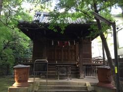 赤坂氷川神社 四合稲荷神社1