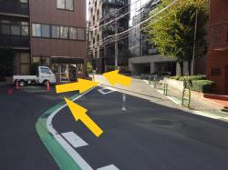 赤坂 クランク状の道 武家地の痕跡