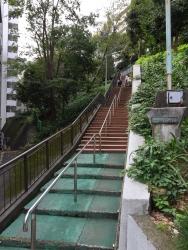赤坂 一ツ木公園 階段