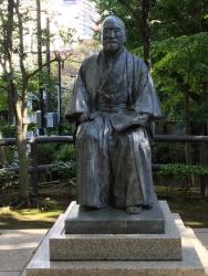 赤坂 高橋是清翁記念公園 高橋是清の像