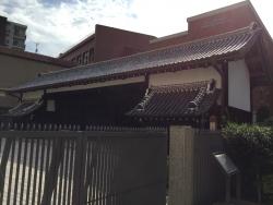 赤坂 山脇学園 武家屋敷門1