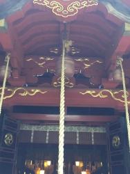 赤坂氷川神社の「本坪鈴」