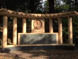 東工大 池の脇 ゴットフリード・ワグネル像