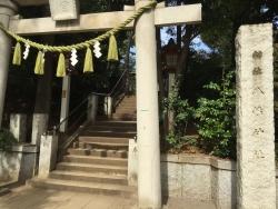 洗足池散策 千束八幡神社1