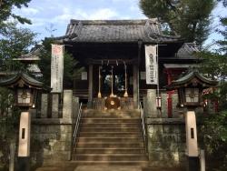 洗足池散策 千束八幡神社2