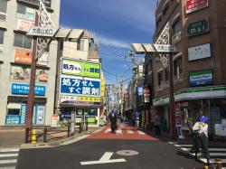 暗渠散歩 洗足流れ 大岡山商店街