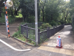 暗渠散歩 洗足流れ 清水窪流れ11 桜山の下1