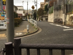 暗渠散歩 洗足流れ 貉窪流れ00 桜山の下から辿る