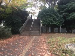 東大 本郷キャンパスへ通じる陸橋