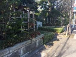 成城学園 生け垣の家2