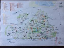 東大 カラー版地図
