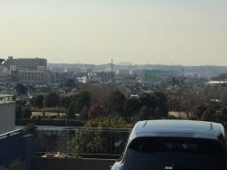成城学園 国分寺崖線上からの眺め1