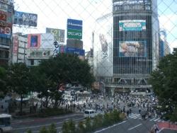 古道 渋谷スクランブル交差点