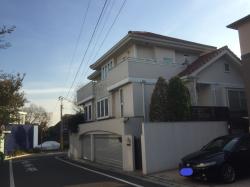 成城学園 水の江瀧子の自宅だった家