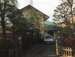 成城学園 横溝正史の自宅1