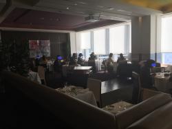 丸ビルレストラン サンス・エ・サブール 室内1