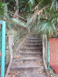 我善坊谷から西久保八幡神社への階段1