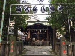 麻布台 西久保八幡神社1