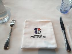 国立新美術館 ポール・ボキューズ テーブルの上2