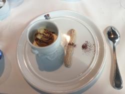 国立新美術館 ポール・ボキューズ 洋梨とキャラメルのムース