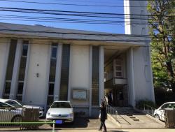 麻布 鳥居坂教会1