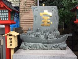 麻布十番 十番稲荷神社 宝船2