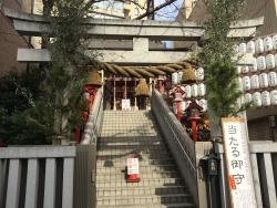 麻布十番 十番稲荷神社1