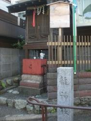 麻布第4回 世田谷上野毛 明神池跡の祠