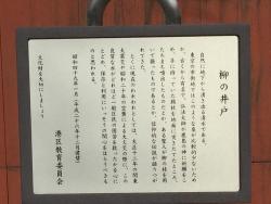 麻布 善福寺 柳の井戸2