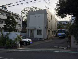 麻布 韓国大使館 厳重な警備1
