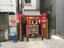 銀座1000円ランチ 宝童稲荷神社