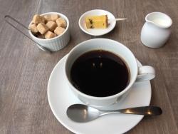 銀座1000円ランチ コーヒーとデザート