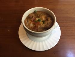 世田谷区岡本 ビストロコシヤマ スープ