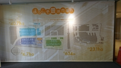 開場後豊洲市場 管理施設棟 築地市場との比較