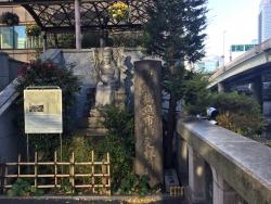日本橋魚河岸跡の碑 開場後豊洲市場記事